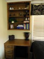 Bedroom #3 Built-in Desk
