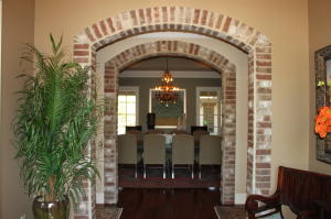 Entryway view of Dining Room