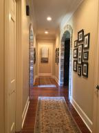 Hallway to Entryway from Kitchen
