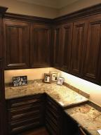 Mudroom Area with granite counter tops.