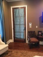 Master access to patio/pool,