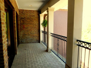 Upstairs-Outdoor Balcony