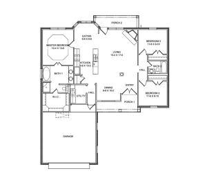 15129 Overview Floor Plan -Left