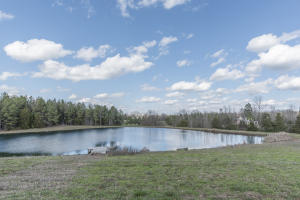 Private stocked pond