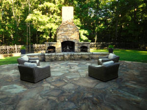 View of Outdoor Living Area
