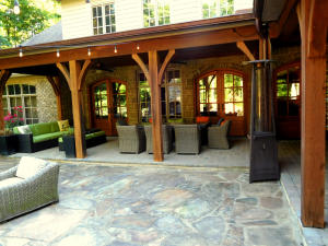 View of Outdoor Dining Area