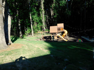 View of Childern's Playset