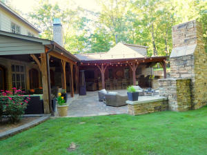 View of Outdoor Kitchen