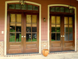 Double French Door Entry