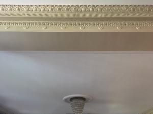 Handmade plaster molding