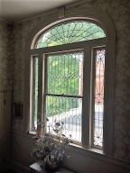 Spectacular leaded glass window