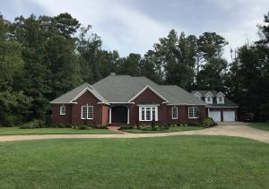 One of Columbus most prestigious subdivisions, Sweetbriar. In ground Pool. Minutes from hospital/schools/shopping. Front view from street with circle drive perfect for entertaining.