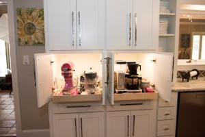 18 Custom Cabinetry Appliance Garages
