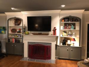 41 Living Room Fireplace and Built-Ins
