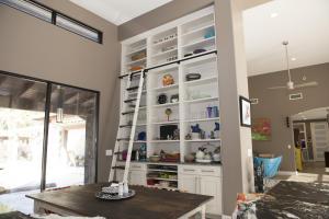 65 Poolhouse Kitchen Bookcase