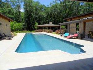 73 Oversized Pool with 25 meter Lap Lane
