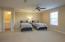 Upstairs Bedroom with closet & Full Bathroom