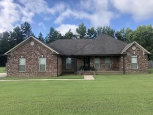 Beautiful brick home on one level featuring 3br/2ba on large 2 acre lot.