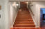 Stairs lead to bonus space