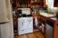 This shows the antique cook stove