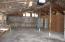 detached garage/shop interior