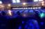 Great view of the blacklights on the lanes, along with fun disco lighting swirling above the lanes.