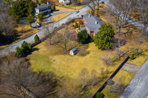 Large lot, over an acre
