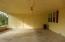 Double carport; storage room