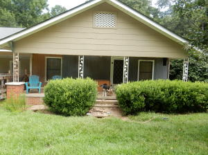 2 bedrooms, 1 bath. Completely remodeled inside. Located on .76 acre. (three-fourth acre MOL)