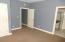 Carpet. Large closet