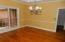Hardwood floors. Nine foot ceilings