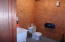 restroom in warehouse