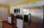 Stainless appliances. Island