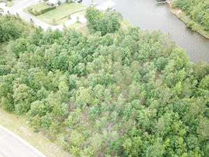 Beautiful waterfront wooded lot on Big Bay Lake in Sedgeway