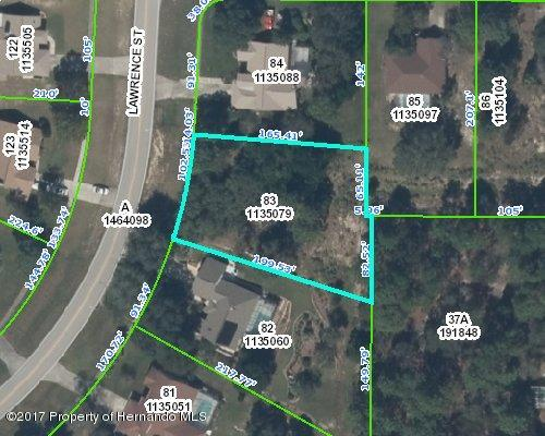 Listing Details for Lot 83 Lawrence Street, Spring Hill, FL 34609