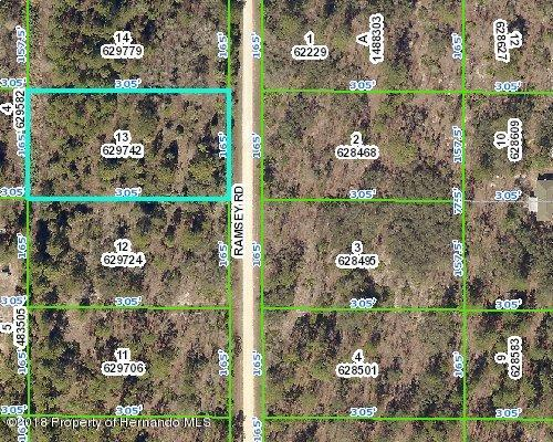 00 Ramsey Road, Weeki Wachee, FL 34614