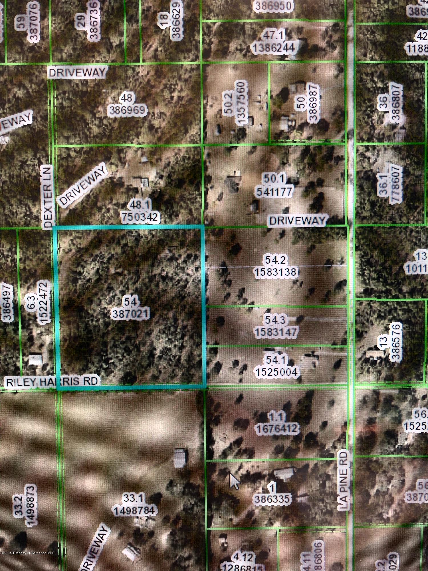 0 Riley Harris Road, Brooksville, FL 34602