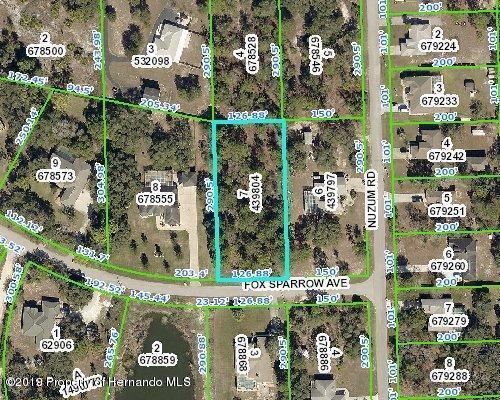 10356 Fox Sparrow Avenue