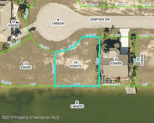 Listing Details for 3360 Jewfish Drive, Hernando Beach, FL 34607