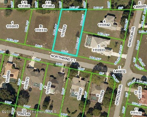 Details for 00 Northwind Court, Spring Hill, FL 34608