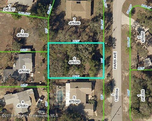Listing Details for 0 Paris Avenue, Spring Hill, FL 34606
