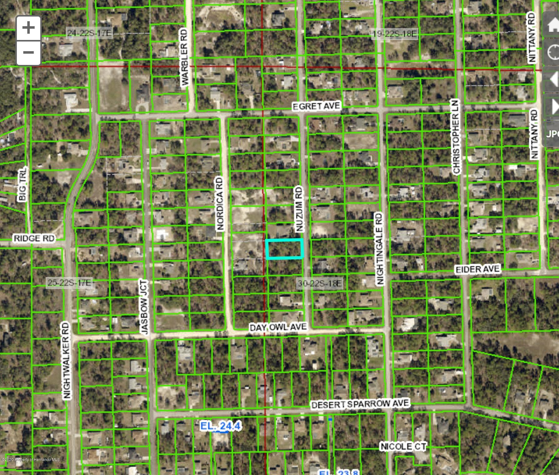 Details for 0 Nuzum Road, Weeki Wachee, FL 34613