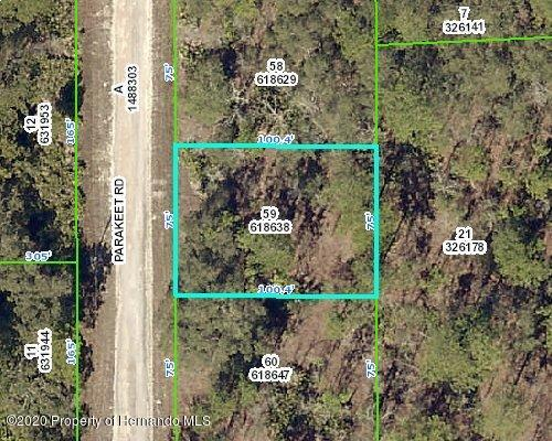 Listing Details for 0 Parakeet Road, Weeki Wachee, FL 34614