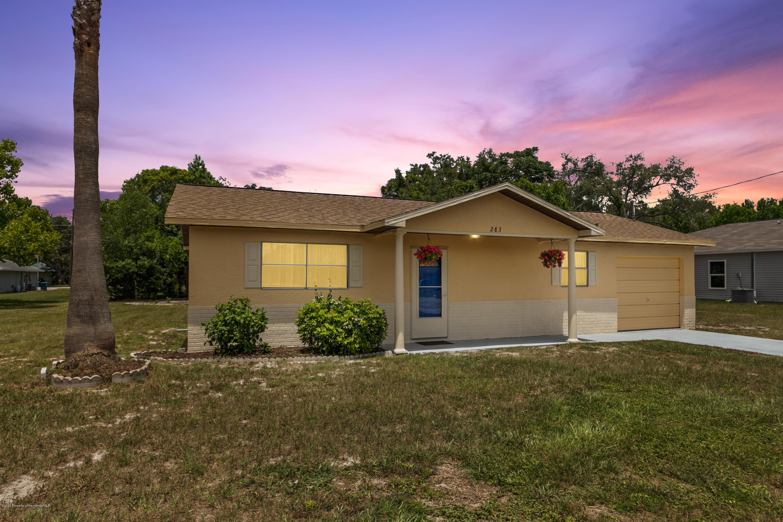 283 Cavalier Avenue, Spring Hill, FL 34606