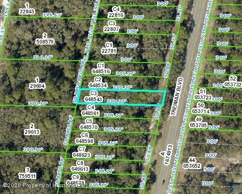 Listing Details for 000 Treiman Boulevard, Ridge Manor, FL 33523