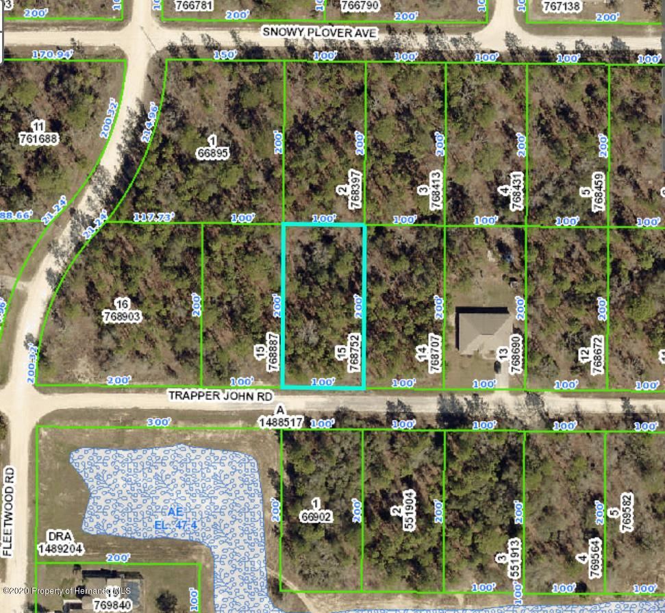 Listing Details for 13101 Trapper John Road, Weeki Wachee, FL 34614