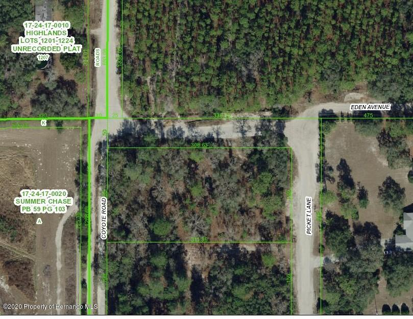 Listing Details for 0 Picket Lane, Hudson, FL 34667