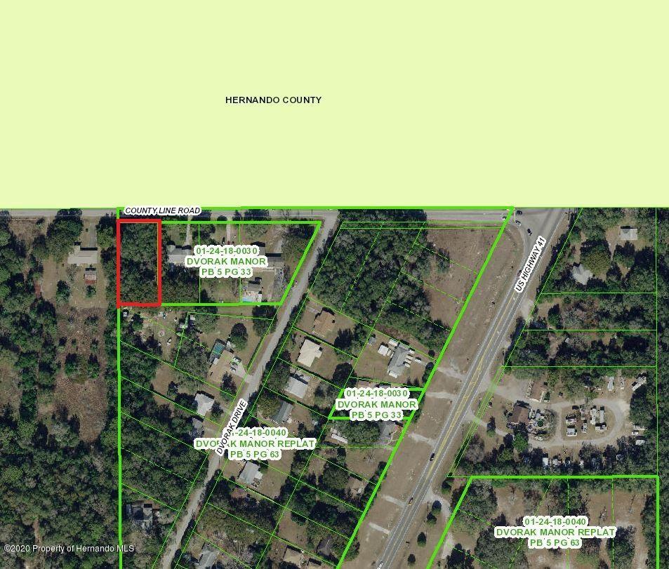 Listing Details for 0 0 County Line, Spring Hill, FL 34610