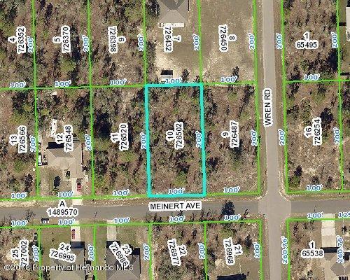 Listing Details for 0 Meinert Avenue, Brooksville, FL 34613