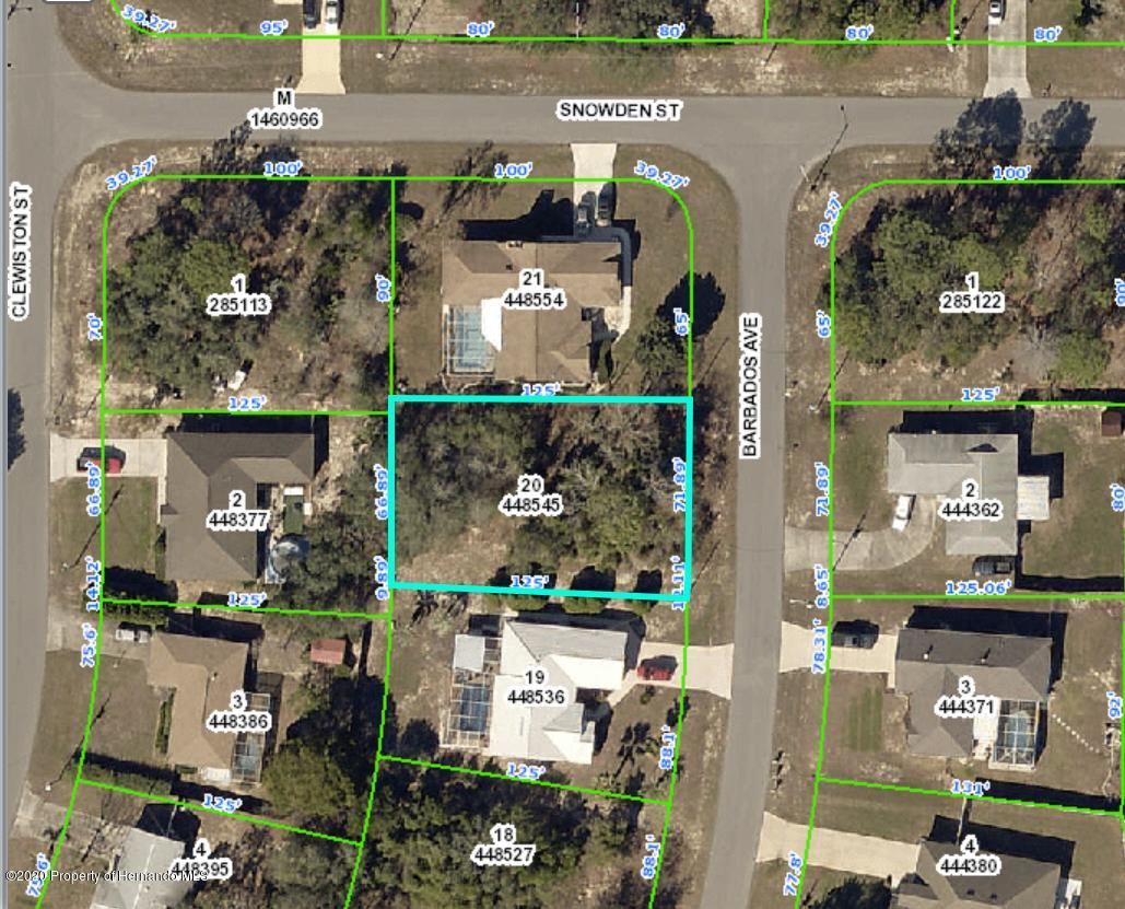 Listing Details for 00 Barbados Avenue, Spring Hill, FL 34609